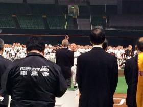 ベスト行進賞発表・選手宣誓